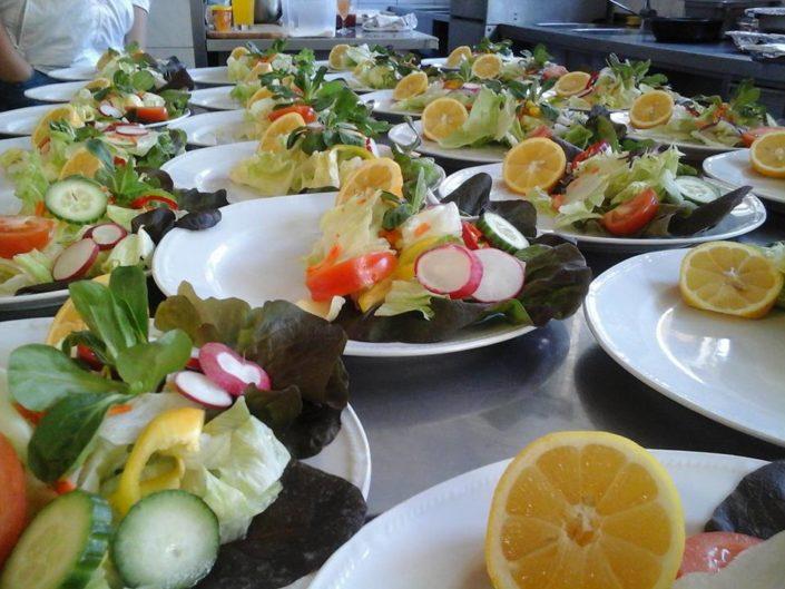Catering Ostfildern Salat